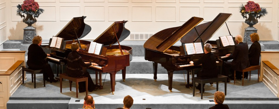 Spring Concert – The Joyous Pianos...